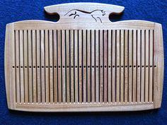 Custom made rigid heddle by Gunnar Karro - Durham Weaver
