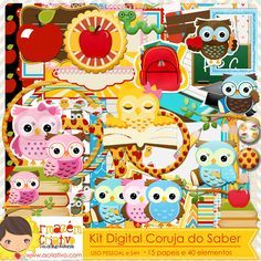 Kit digital corujas do saber  http://acriativo.com/loja/index.php?main_page=product_info&cPath=34&products_id=774