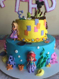 Disney Princess Cake Back