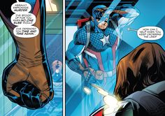 """""""No """"Hey Bucky, how ya been?""""… or """"What's new?"""" …or """"I missed you"""" """""""