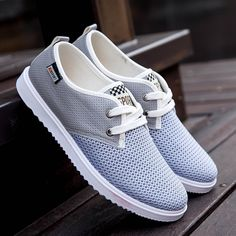 Cheap shoes big, Buy Quality jogging shoes directly from China casual shoes Suppliers: Men Casual Shoes Mesh Breathable Autumn Spring Flats Canvas Shoe Men Man Male Walking Jogging Shoes Big Size White Blue Grey Shoes, Men's Shoes, Shoes Sneakers, Shoes Sport, Shoes Men, Jogging Shoes, Wholesale Shoes, Cheap Shoes, Casual Shoes