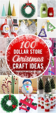 Mason Jar Christmas Crafts, Pine Cone Christmas Tree, Christmas Crafts For Adults, Photo Christmas Ornaments, Dollar Store Christmas, Christmas On A Budget, Christmas Diy, Holiday Crafts, Holiday Ideas