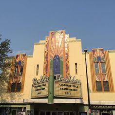 #theater #deco #artdeco #building #design #architecture #travel #boulder #colorado #latergram