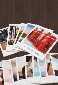 Last minute gift idea!  This site turns your online pictures into polaroids or collages. takes them right from instagram, computer, facebook, etc...