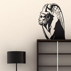 If you want a classic, quirky and designer wall stickers the gargoyle 02 is for you!