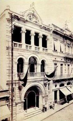 Centro de São Paulo. Antigo Banco Alemão, localizado na Rua 15 de Novembro