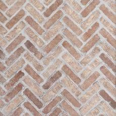 Brick Tile Floor, Brick Look Tile, Herringbone Tile Floors, Brick Paneling, Brick Pavers, Brick Flooring, Kitchen Flooring, Brick Floor Kitchen, Faux Brick Backsplash