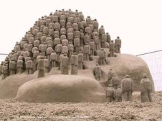 25 Incredible Sand Sculptures That Will Make You Do a Double Take