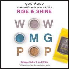 YOU NEED THIS IN YOUR MAKEUP BAG! Shine Cloth Wipes & 3 splurge shadows! Total savings of $23! Lasts this month only get yours! http://ift.tt/1JT1aHs #mua #makeup #followme