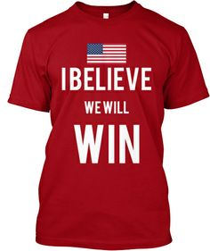 Limited Edition 2014 World Cup U.S. Men's Soccer Team tee. Use this link for $10 Off Coupon! #ibelievewewillwin
