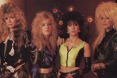 80s Trends, Heavy Metal Girl, Tina Turner, Vixen, Hard Rock, Thunder, Rock Bands, Rock And Roll, Wonder Woman