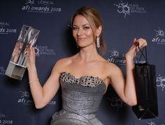 Kat Stewart. 2008. Best Lead Actress in a TV Drama - UNDERBELLY.