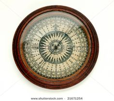 Photo about Antique round wooden compass on white background. Image of navigation, east, equipment - 7356512 Marble Magnets, Compass Rose, White Stock Image, Arm Tattoo, Inventions, Photo Editing, Royalty Free Stock Photos, Give It To Me, Antiques