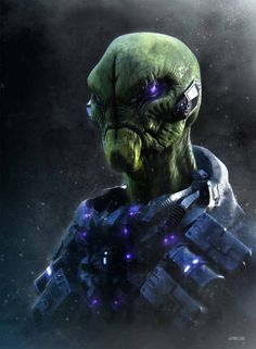What will happen to the aliens in Central Park once the operatives arrive? Les Aliens, Aliens And Ufos, Space Fantasy, Sci Fi Fantasy, Alien Creatures, Fantasy Creatures, Strange Creatures, Alien Character, Character Art