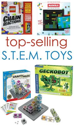 Wait 'til you see these mind-blowing STEM toys. These exciting new toys build Science, Technology, Engineering and Math skills while creating tons of fun.