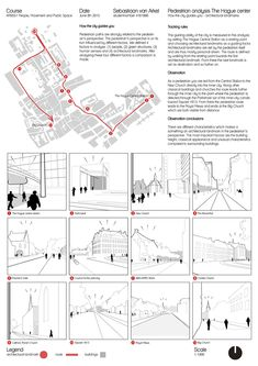 People, movement and public space - how to show the sidewalk gardens - . - People, movement and public space – as you can see the sidewalk gardens – - Plan Concept Architecture, Site Analysis Architecture, Architecture Presentation Board, Architectural Presentation, Presentation Boards, Architectural Models, Architectural Drawings, Urban Design Concept, Urban Design Diagram