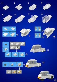 Citroën 2CV Lego instructions