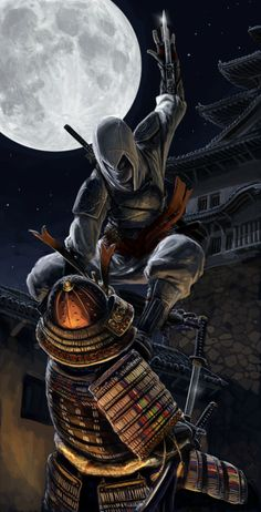 Japanese Assassin's Creed Concept by Txikimorin from Deviant Art