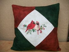 Floriani Great Notions Backyard Friends Embroidery on a pillow