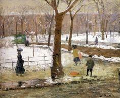 """Washington Square, Winter"" from 1910."