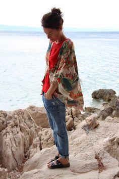 Kimono Zara http://louetswann.blogspot.fr/