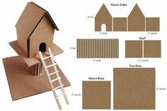 Cardboard Treehouse | Art Projects for Kids | Bloglovin'