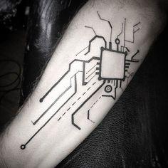 Circuit board forearm