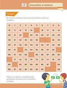 Resultado de imagen para leccion 32 encuentra el numero matematicas primer grado