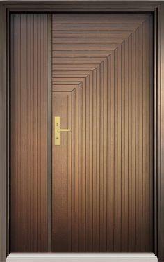 Modern Wood Doors, Modern Entrance Door, Main Entrance Door Design, Wooden Main Door Design, Room Door Design, Wooden Front Doors, Door Design Interior, The Doors, House Design