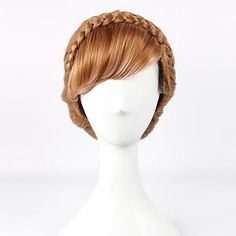 Gefrorene Prinzessin Anna Up-do Cosplay Perücke – EUR € 29.99