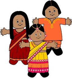 Printable multi-cultural dolls.  Great activity to practice cutting and learn about the different clothes associated with different cultures.