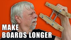 Tips & Tricks for Making Boards Longer / End-to-End Woodworking Joints. #woodworking Woodworking Joints, Woodworking Videos, Woodworking Projects, Wood Joints, Finger Joint, Router Bits, Long A, Joinery, Wood Working