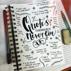 #listersgottalist ✍ all about those lame but actually pretty useful motivationals. . . . . . . #lettering #artstudy #artdiary #diary #doodle #journal #artjournal #skillshare #calligraphy #sketch #lists #artshare #list #relax #fineliner #fonts #illustration #art #artwork #quotes #quote #inspiration #motivation #nevergiveup