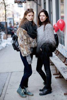 Modelsat New York Fashion Week A/W14
