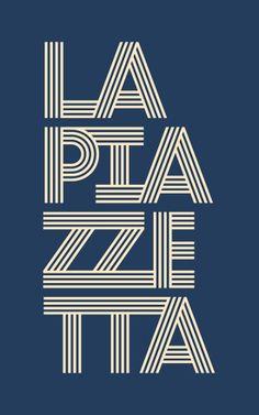 LA PIAZZETTA _ identity