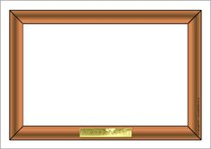 Picture frame A4 page borders (SB3802) - SparkleBox