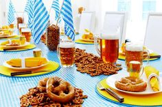 Plan Your Own Oktoberfest -- Throw a Bavarian-Themed Party