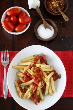 always a fan of good arrabbiata -  Arrabbiata sauce is simply a spicy tomato sauce. You can pair it with just about any pasta you like. I happened to have Voiello's le Penne Lisce in my pantry and so Penne all'Arrabbiata it w...