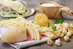 Traditional Slovak types of cheese, such as Oštiepok, Korbáčik or Parenica