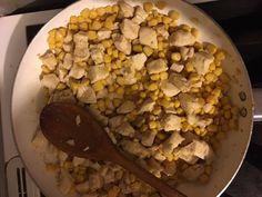 Sajtos, kukoricás csirkemell recept lépés 3 foto