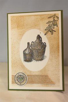 Stampin Up Tuscan Vineyard continued..