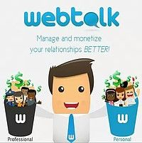 Being social pays BIG with Webtalk's free referral rewards affiliate program paying revenue share for LIFE!