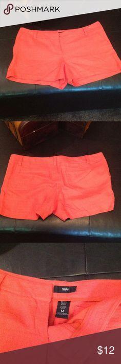 Rayon shorts Short shorts, Mossimo Orange Mossimo Supply Co Shorts
