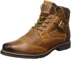Bugatti Herren 321344503200 Klassische Stiefel, Braun (Cognac), 40 EU: Amazon.de: Schuhe & Handtaschen