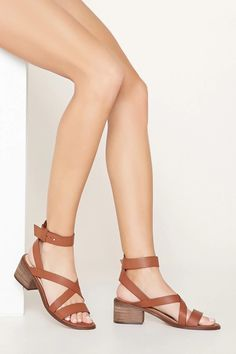 Block Heel Sandals #stepitup
