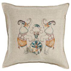 Circus Elephant Pocket Pillow