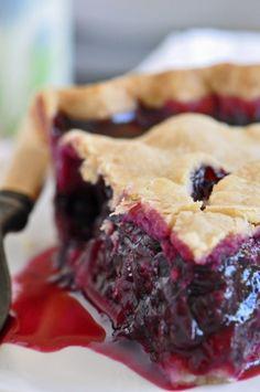 Blueberry Pie Recipe Think I'll add 1/2 t cinnamon