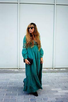 The boho dress   FRINGE&FRANGE