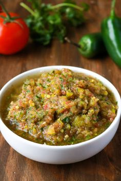 If you're looking for a twist on salsa, one with a real tangy, vinegary side, this banana pepper salsa is the recipe for you. Fresh Salsa Recipe, Fresh Tomato Recipes, Onion Recipes, Recipes With Banana Peppers, Stuffed Banana Peppers, Banana Pepper Recipes, Healthy Cooking, Healthy Recipes, Vegetarian Recipes