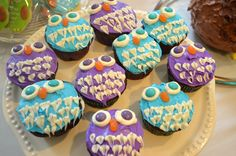 owl cupcakes & owl birthday cake - All You Need To Know About Baby Shower Owl Cupcakes, Cute Cupcakes, Baby Shower Cupcakes, Cupcake Cakes, Cup Cakes, Cupcake Ideas, Cupcake Recipes, Owl Cake Birthday, Baby Girl First Birthday
